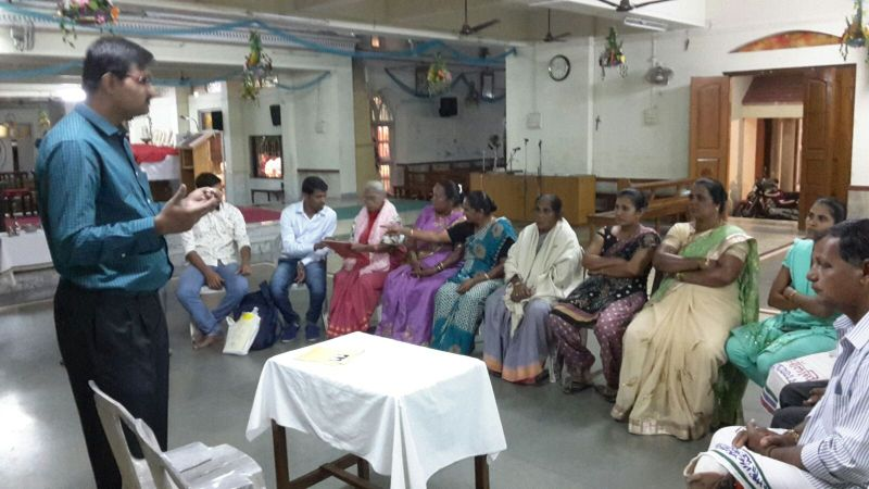 Training Session at Our Lady of Nazareth Church, Bhayandar (W)