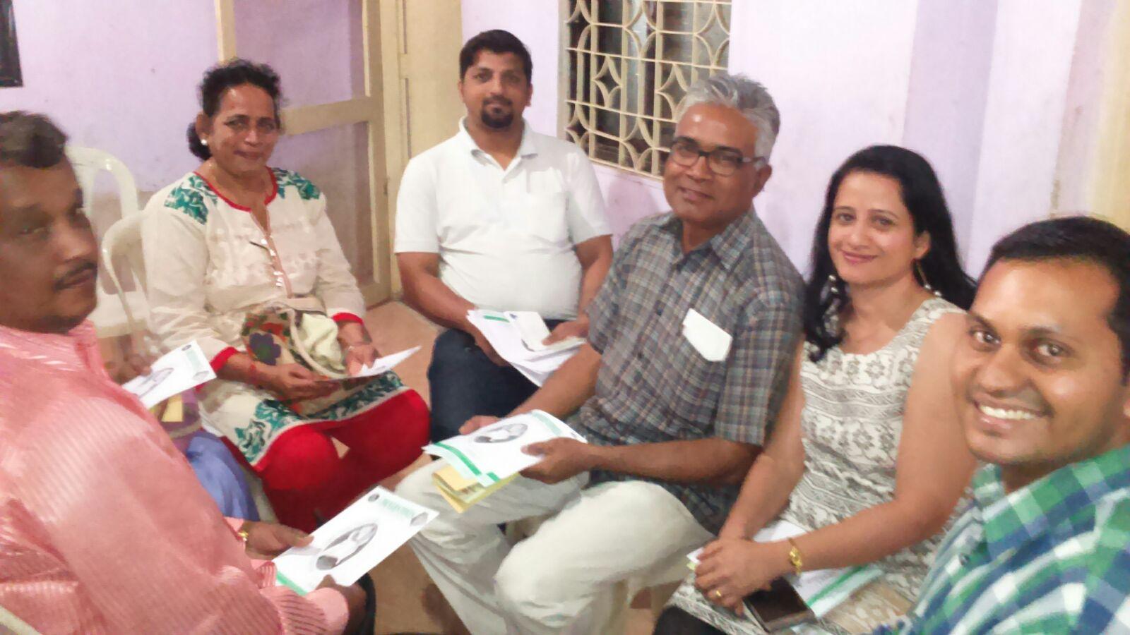 Training Session at St. Francis Xavier Church, Badlapur